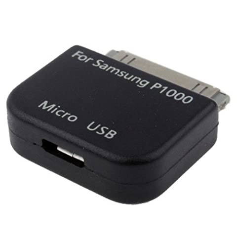 COGODIS Lade-Adapter Micro USB zu 30-PIN für Samsung Galaxy Tab - Schwarz
