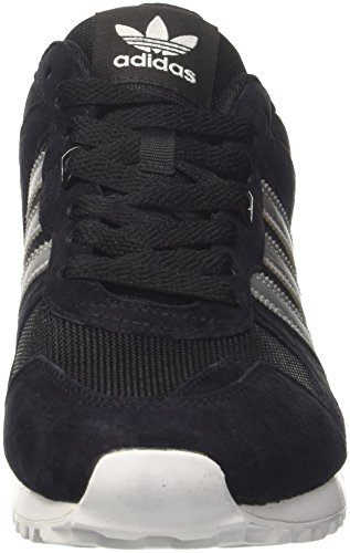 adidas - Zx 700, Scarpe da Ginnastica Basse Uomo Multicolore (Cblack/Msilve/Utiblk)