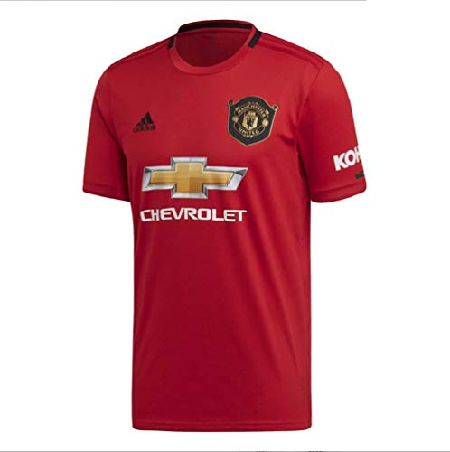 adidas Manchester United Trikot Home 19/20 (L, rot)