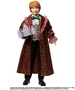 Harry Potter Muñeco Ron Weasley Baile de navidad de Harry Potter con accesorios (Mattel GFG15)