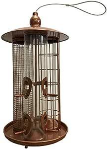 Lot de 3 Deluxe Hanging Wild Bird Feeders alimentation graines nuts /& du Suif Fat Balls