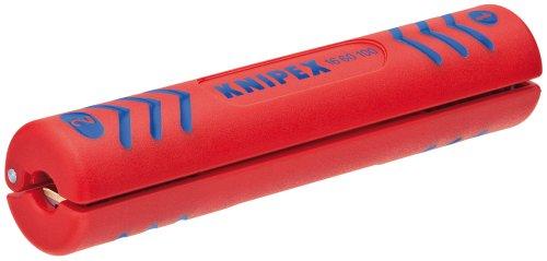 Preisvergleich Produktbild KNIPEX 16 60 100 SB Abisolierwerkzeug für Koaxial-Kabel 100 mm (in SB-Verpackung)