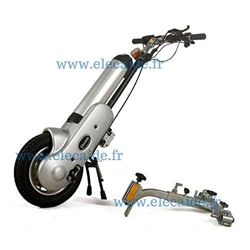ElecAide: Assistant électrique pour fauteuil roulant manuel (chassis pliant)