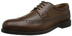 Clarks Mens Coling Limit Beige Formal Shoes - 6.5 UK/India (40 EU)