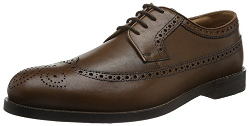 Clarks Herren Coling Limit Oxford Schnürhalbschuhe, Braun (Tan Leather), 47 EU