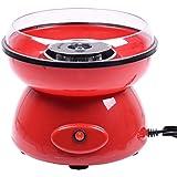 Electrique cotton candy Machine à barbe à bonbons fabricant automat 500W (Rouge)