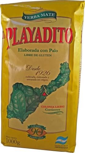 Playadito 1Kg - leckerer Mate Tee aus Argentinien mit Stengelstückchen. Trinken wie die Gauchos. -