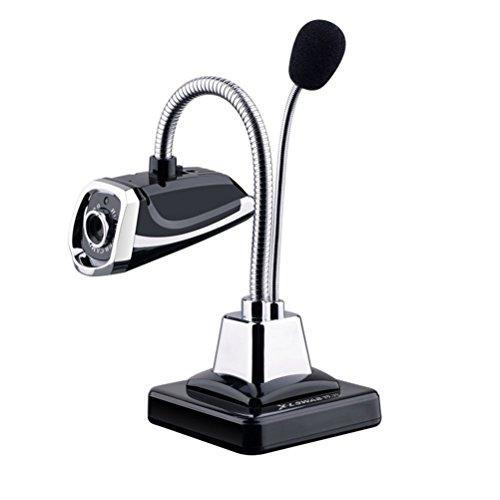 Pixnor Premium-Qualität 640 x 480 HD-Webcam mit Mikrofon für Netzwerk Kamera Skype Video Chat