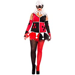 Women's Plus Size Harley Jester Fancy dress costume 1X/2X