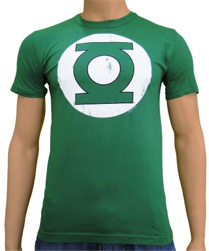 DC Comics-Vintage Comic t-Shirt à Logo Green Lantern Green Bottle, XL