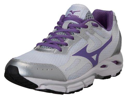 MIZUNO Wave Resolute 2 Blanc Violet bianco/viola/argento