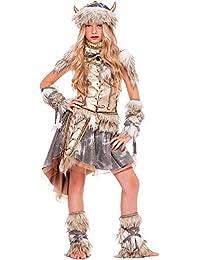 Costume di Carnevale da VICHINGA Prestige Vestito per Ragazza Bambina 7 5804dfdd3b7