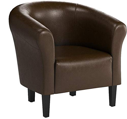 "TOP Sessel Clubsessel Loungesessel Cocktailsessel ""MONACO 2"" Braun W364 04"