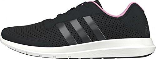 Scarpa Da Running Adidas Da Donna Elemento Refresh W Nero / Bianco (negbas / Negbas / Briros)