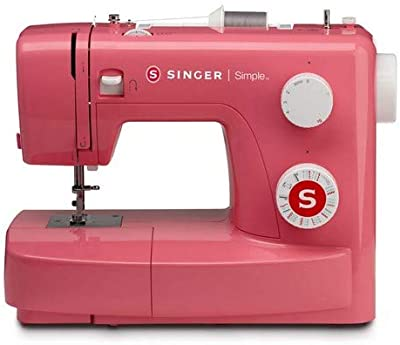 Singer MC Simple 3223 Máquina de coser, Rosa (Pink Edition)
