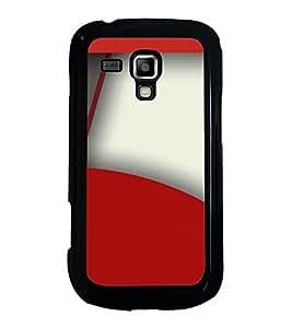 Fuson Designer Back Case Cover for Samsung Galaxy S Duos S7562 (designer wall paper frame photo)