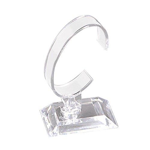 Ukcoco - supporto in acrilico per orologio, gioielli