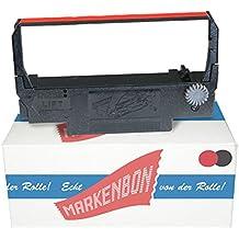 5 x Farbbandkassette Epson ERC 30 [schwarz / rot] original markenbon Epson Farbband ERC38BR Gruppe 655 (1 Karton mit 5 Stück)
