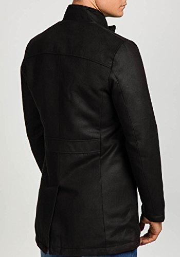BOLF - Manteau classique – PPM 8856 - Homme Noir_3132