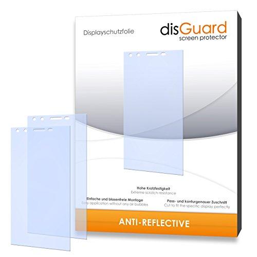 disGuard hartbeschichtet Anti-Reflective Bildschirmschutzfolie für Phicomm Passion (3-er Pack)