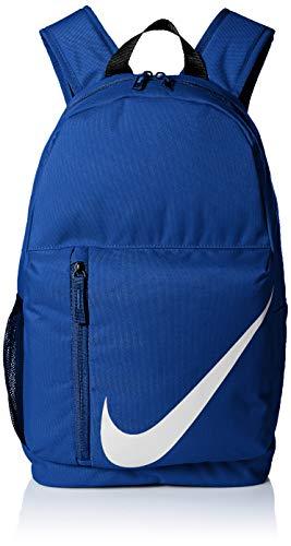 Nike Kinder Elemental Backpack Rucksack, Indigo Force/Fuel orange/Vast Grey, MISC