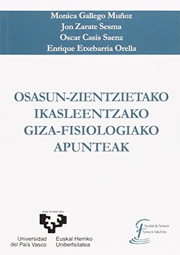 OSASUN-ZIENTZIETAKO IKASLEENTZAKO GIZA-FISIOLOGIAKO APUNTEAK por MONICA GALLEGO MUÑOZ