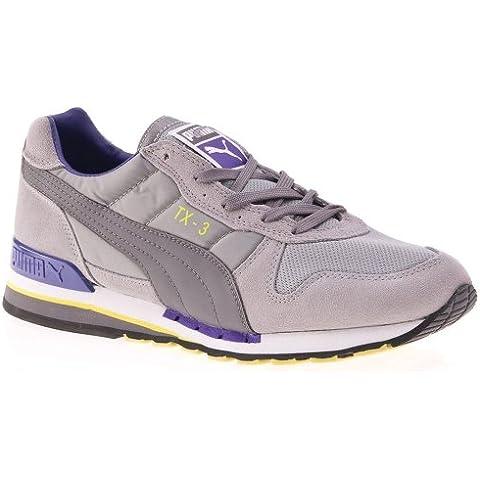 Puma TX de 3Limes Tone Gray/Steel Gray/Prism Violet