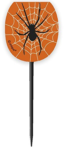 s Orange Spider Web Halloween Cupcake Fällen und Cupcake Toppers Kit für 24 ()