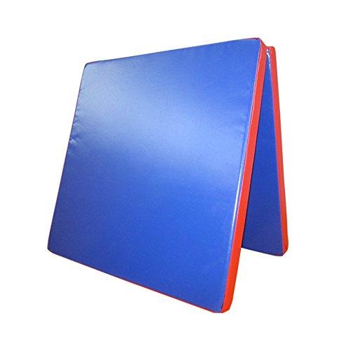 Klappbare Turnmatte - versch. Farben & Größen - Raumgewicht: 22 kg/m³ (200 x 100 x 8 cm, Blau -...