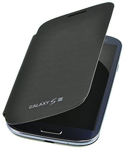 PhoneStar Flip Cover étui de protection pour Samsung Galaxy S3 i9300 noir