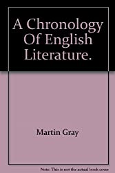 A Chronology of English Literature.