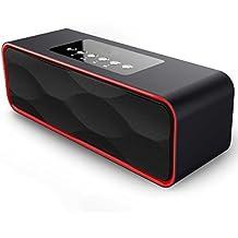 Portátil Estéreo Altavoz Bluetooth, ZEPST inalámbricos Bajo estupendo Bocinas con HD Audio y Manos Libres