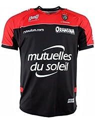 Rct Toulon 2016/17–Camiseta de rugby, color rojo, tamaño 8 años