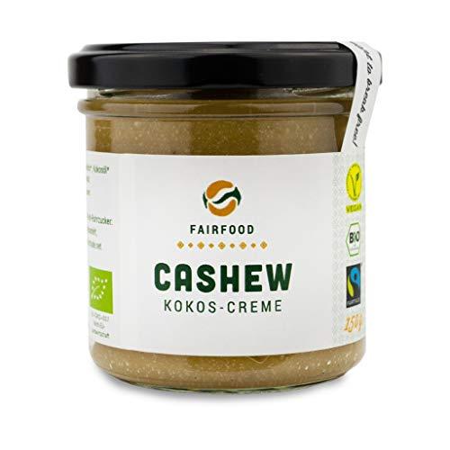 Cashew-Kokos-Nusscreme (bio & vegan)