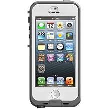 LifeProof Nuud - Carcasa para iPhone 5, color blanco y transparente