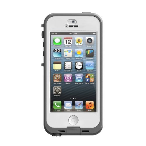 LifeProof Belkin Funda para móvil Apple iPhone 5/5S, Color Blanco