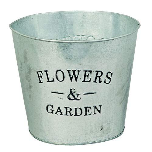Herstera Cubo Zinc Flowers & Garden