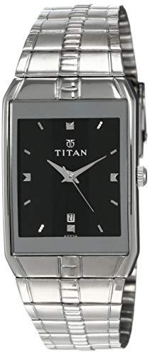 Titan Karishma Analog Black Dial Men's Watch -NH9151SM02A