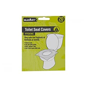 41Nk2UlbreL. SS300  - PMS Festival/Camping Toilet SEAT Covers PK 20