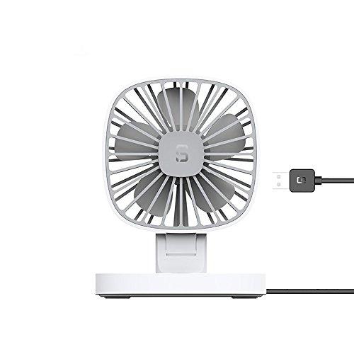 Mini Ventilador USB Silencioso,JiaMeng USB 12V Coche portátil Aire Acondicionado Enfriador de...