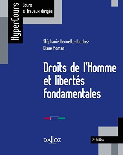 Droits de l'Homme et liberts fondamentales - 2e d.