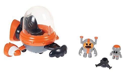 Fisher-Price – GO Jetters – Gronchon & GronchoJet – Figurine et Véhicule Géo Jet