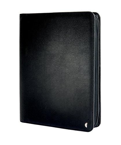 Chronoplan 50863 Organizer Kunstleder (Terminplaner A4 mit Reißverschluss, Ringbuch) schwarz