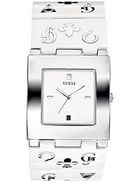 Guess - W11508L2 - Guess City White - Montre Femme - Quartz Analogique - Bracelet en Acier