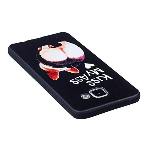 A5 2016 Hülle ,Samsung A5 2016 Shell Case , Galaxy A5 2016 Black Hülle, Cozy Hut® [Liquid Crystal] [Matte Black] [With Lanyard/Strap] Samsung Galaxy A5 2016 Ultra Slim Schutzhülle ,Anti-Scratch Shockp Hintern
