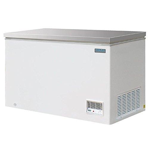 Polar Brust Gefrierschrank Deckel aus Edelstahl 385litres 230W weiß - Kühlschrank Brust, Mit Gefrierfach