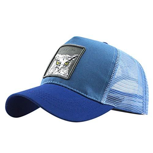 Imagen de ❤rytejfes  beisbol de causal pescador sombrero sombrero de sol visera plegable camuflaje bordado de animales upf 50+ ajustable malla transpirable anti uv para aire libre viaje selva exterior alternativa