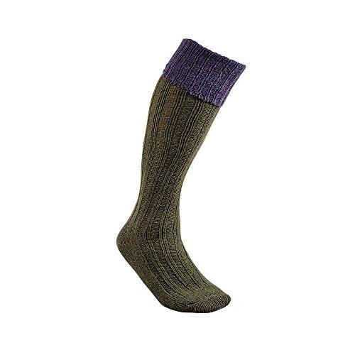 Chaussettes de chasse Club Interchasse Natun L / Violet
