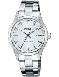 41d11d0549d5 Lorus Reloj Analógico para Mujer de Cuarzo con Correa en Acero Inoxidable  RJ219BX9