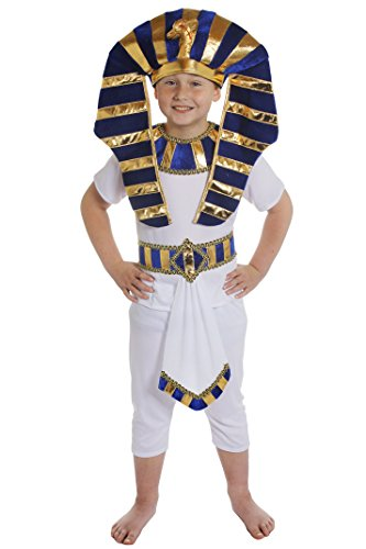 I Love Fancy Dress - ILFD7063 - Egyptian Boy - Costume ragazzo egiziano - Taglia L